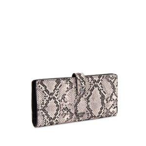 Victoria's Secret Python Slim Bifold Wallet
